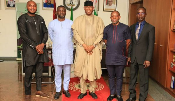 CSGGG Courtesy visit to the Distinguished Senate President. Senator Ovie Omo-Agege