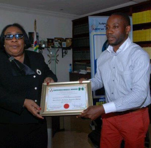 Presentation of Distinguished Service Award to Justice Ayoola Philips