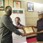 CSGGG Awards MD/CEO, Nigerian Social Insurance Trust Fund, Barrister Adebayo Somefun
